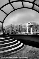 "1st Place Digital B&W By Mike Walsh ""Anderson Pavillion"""