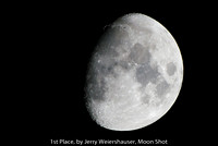 "1ST PLACE, BY JERRY WEIERSHAUSER, ""MOON SHOT"""