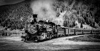 "4th Place Digital B&W By Ron Nicolls ""Coming Into The Station"""