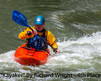 Kayaker By Richard Wright - 4th Place Digital Color