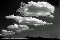 "1st Place B&W Print By Mike Walsh ""Clouds in Formation"""