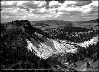 "2nd Place Digital B&W By John Paulson ""Yellowstone River View"""