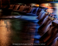 "HM Digital Color By Douglas Conrad ""Des Moines River Spillway"""